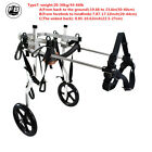 8 Types Cart Pet /Dog Wheelchair To Make Handicapped large Dog /Doggie  /Puppy walk