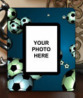 "3.5""x5"" PHOTO FRAME - SOCCER 17 Athlete Ball Game Team Coach Sports Goal Gift"