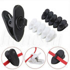 collar holders - 20~100X Headphone Earphone Cable Wire Cord Lapel Collar Clip Nip Clamp Holder