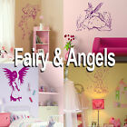 Fairy Wall Sticker! Girls Home Transfer Graphics  Angel Decal Decor Stencil Art