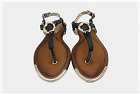 Ladies Womens Flat black Summer Slingback beach Sandals New Fashion Size 3-8