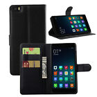 For Xiaomi Mi Note Luxury Flip Card Wallet PU Leather Case Cover Skin Holder