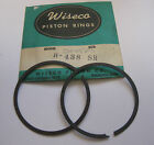 HIRTH 211R 438CC TWIN CYLINDER MOTOR STANDARD PISTON RINGS WISECO BRAND