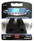Shoreline Marine Pole Light Stroage Clips - Made Of Soft Rubber To Prevent Dents