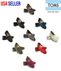Внешний вид - New Authentic TOMS Women's CLASSIC Solid Canvas Slip on flats shoes US Sizes