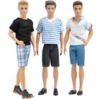 E-TING 3 Sets=6 Items Fashionistas Casual Wear T-shirt Pants Pack Summer Look...