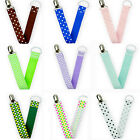 Baby Toddler Infant Pacifier Anti-lost Clip Leash Strap Soother Nipple Holders
