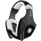 USB Gaming Headset-SADES A60/OMG Computer Over Ear Stereo Heaphones With