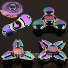 Rainbow Alloy Hand Spinner Fidget Spinner EDC Fingertip Gyro Toy Kids Adult ADHD