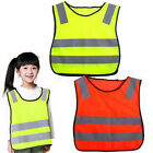 Great Safety Hi Vis Kids Waistcoat Vest Grey Reflective Strips Traffic Clothes