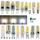 G4 G9 E14 Dimmable Silicone Crystal LED Corn Light Filament Bulb COB Lamp Bright