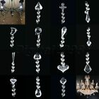 Acrylic Garland Diamond Crystal Beads Pendant Chandelier Wedding Decor D20T98A