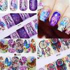 12Patterns Water Decals Nail Art Transfer Stickers Christmas Decoration Tips DIY