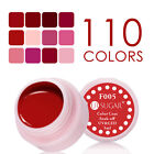 5ml UR SUGAR Soak Off Nail Art UV Gel Polish Nail Varnish Red Series F001-012 $0.99 USD