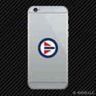 Royal Norwegian Air Force Roundel Cell Phone Sticker Mobile RNoAF Norway NOR NO