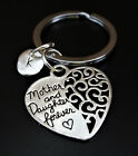 Mother and Daughter Forever Keychain  Mother Daughter Gift  Daughter Mother Gift