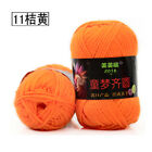 Lot of 40 color Wholesale Soft Cashmere Knitting Crochet baby cotton Yarn 50g