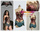 Batman v Superman Wonder Woman Diana Prince Dress Cosplay Costume New Price