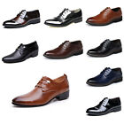 Men's Formal Pointed Toe Oxfords Leather Shoes Casual Dress Wedding Party Prom