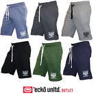 New Ecko Mens Shorts Sweat Pants Casual Fleece Sweat Shorts S M L XL XXL