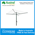 Austral FoldAway 51 Rotary Hoist Clothesline Clothes Lines FREE DELIVERY