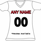 Women's Customized Green Bay Packers Football Jersey Personalized Embroidered