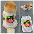 Pet Summer Dog Clothes T Shirt Puppy Cute Cotton Vest Coat Apparel Costumes US