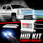 For Chevy Silverado 1500 2500 9005 H11 5202 HID Conversion Kit Bulbs 07 to 2015