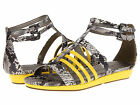 NEW MICHAEL ANTONIO DUBLIN SNAKE WOMEN'S OPEN-TOE SANDALS SIZES 8, 8.5 YELLOW