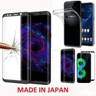 Samsung Galaxy S8,TPU Case Cover+Tempered Glass 3D Protector CLEAR