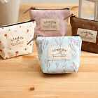 Women's Lady's Coin Key Case Small Canvas Purse Mini Bag Zip Wallet Holder