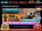 82 NEW SUPER STYLES Dance Funk & Blues Rock Ketron SD1 SD1 Plus NEW EDITION