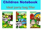6 - 30 children small FARM NOTEPAD NOTEBOOK party bag filler toy girl boy kid