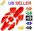 Plastic Fender Fairing Kit For Honda XR50 CRF50 SDG SSR 107 125 Dirt Pit Bike image