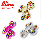 ????  BLING FIDGET SPINNERS - LATEST DIAMOND FIDGET SPINNER CRYSTAL RARE SPARKLE