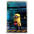 Cute Minion Dave Cartoon Soft Silicone Case Cover For Samsung Galaxy iPad D27-8