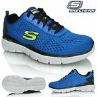 Mens Skechers Equalizer 2.0 Settle The Score Memory Foam Indoor Court Trainers