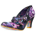 Irregular Choice Candy Whistle Womens Shoes Black Multicolour New Shoes