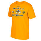 Nashville Predators Triple Logo T-shirt - Gold