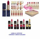 L'Oreal Paris Rouge Caresse Extraordinaire Riche Lipsticks choose various shades