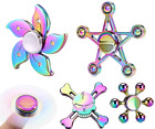 NEW RAINBOW FIDGET SPINNER - Best Quality ADHD Spinning toys cheapest UK SALE