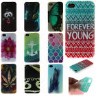 Painted Soft TPU Protective Case Skin Back Phone Cover Shell For Apple iPhone 4