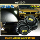 CREE 8-LED Angel Eye Halo Ring Marker Bulb 160W Total for BMW E90 E91 3 Series