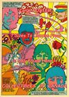 """THE BEATLES 1978 SGT. PEPPER'S Psychedelic POSTER Not Comic Book 7 SIZES 19""""-36"""""""