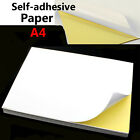 Внешний вид - Lot A4 White Glossy Self-adhesive Sticker Sticky Back Label Printing Paper Sheet