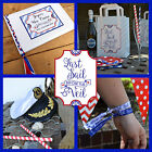 LAST SAIL BEFORE THE VEIL HEN NIGHT ACCESSORIES  Nautical Sailor Theme Hen Party
