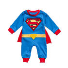 Toddler Boys Girls Baby Kids Super Hero Romper Outfit Party Fancy Dress Costume