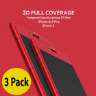 3X Tempered Glass 3D CURVED  Screen Protector For iPhone 7 & iPhone 7/ 8 Plus