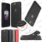 Hybrid Rugged Armor Brush Carbon Fiber Soft Case Skin For Oneplus 5 A5000 Cover