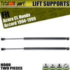 2x Hood Lift Supports Shock Struts Springs Props for Honda Accord 95-97 CL 97-99